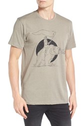 Imperial Motion Men's Free Ride Graphic T Shirt Stone Grey
