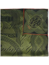 Givenchy Dollar Print Scarf Green