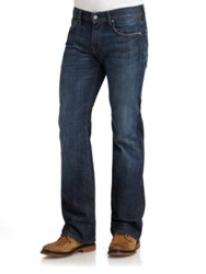 7 For All Mankind Brett Modern Bootcut Jeans Dark Blue