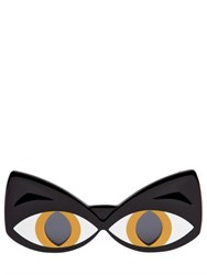 Yazbukey Cat Face Acetate Sunglasses