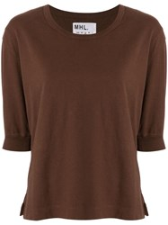 Margaret Howell Whsp0089a19gzzrus Rust Natural 60