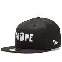 A Bathing Ape New Era Bape Cap Black
