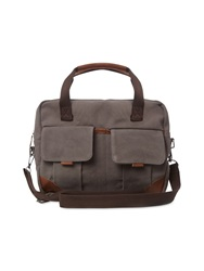 White Stuff Speedy Canvas Satchel Grey