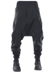Demobaza Big Shepherd Wool Flannel Baggy Pants