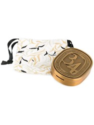 Diptyque Solid Perfume Unisex Porcelain And Parfum One Size Metallic