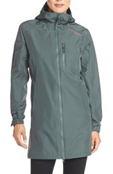 Women's Helly Hansen 'Belfast' Long Jacket Rock