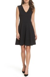 Felicity And Coco Lyla Fit Flare Dress Black