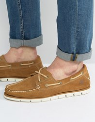 Timberland Tidelands Boat Shoes Tan