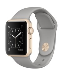 Apple Watch Series 1 38Mm Gold Tone Aluminum Case With Concrete Sport Band
