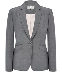 Austin Reed Grey Crosshatch Jacket
