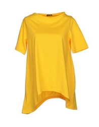 Charlott T Shirts Yellow