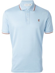 Pringle Of Scotland Logo Embroidered Polo Shirt