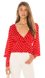 Tularosa Amber Top In Red.