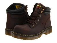 Dr. Martens Work Burnham St 6 Tie Boot Gaucho Volcano Work Lace Up Boots Brown