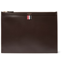 Thom Browne Leather Document Holder Brown