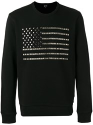 Just Cavalli Studded Knitted Sweater Black