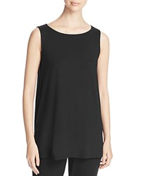 Eileen Fisher Long A Line Tank Black