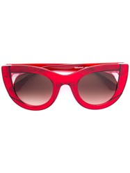Thierry Lasry Cat Eye Sunglasses Red