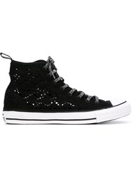 Converse Glitter High Top Sneakers Black