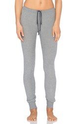 Eberjey Cozy Rib Legging Gray