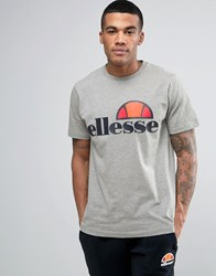 Ellesse T Shirt With Classic Logo Grey