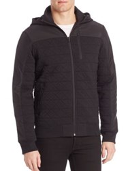 Victorinox Quilted Hooded Jacket Admiral Grey