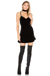 For Love And Lemons Collette Tank Dress Black