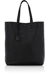Saint Laurent Men's Open Top Tote Black