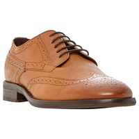 Bertie Butcher Round Toe Leather Derby Brogues
