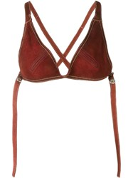 Dsquared2 Crisscross Back Bra