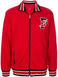 Ralph Lauren P Wing Zip Front Jumper Red