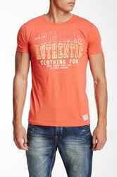 Shine Original Printed Tee Orange