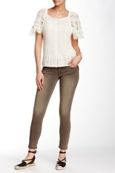 Free People Lightweight Ankle Skinny Jean Gray