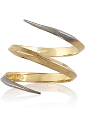 Katie Rowland 18 Karat Gold And Sterlign Silver Ring Metallic