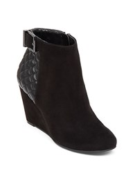 Bcbgeneration Wright Wedge Booties Black