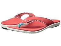 Spenco Candy Stripe Red Women's Sandals