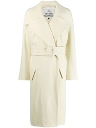Vivienne Westwood Belted Coat White