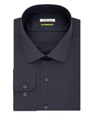 Van Heusen Flex Collar Big Dress Shirt Charcoal