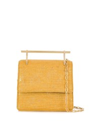 M2malletier Mini Collectionneuse Tote Bag Yellow