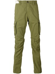 Incotex Air Tech Cargo Trousers Men Cotton 31 Green