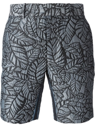 Opening Ceremony Leaves Jacquard Pattern Shorts