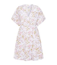Thierry Colson Floral Wrap Nightdress Multi