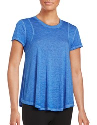 Calvin Klein Active Burnout Tee Royal Blue