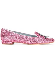 Chiara Ferragni 'Flirting' Slippers Pink Purple