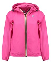K Way Kway Claudette Waterproof Jacket Red