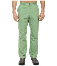 Mountain Khakis Broadway Fit Poplin Pant Mint Men's Casual Pants Green