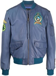 Mr And Mrs Italy Logo Patch Bomber Jacket 60