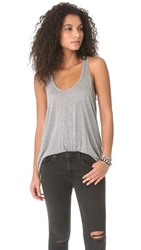 Monrow Basic Tank Heather Grey