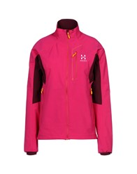 Haglofs Coats And Jackets Jackets Fuchsia