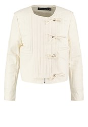 Bik Bok Poppy Summer Jacket Offwhite Off White